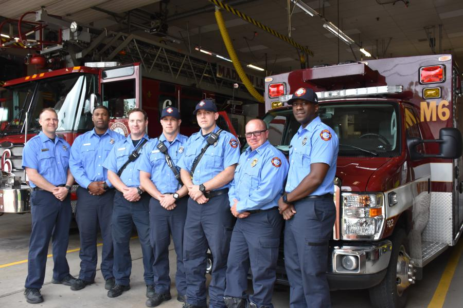 Station 6 C-shift personnel