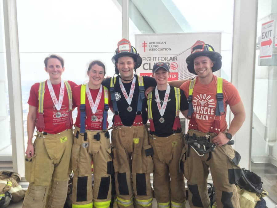 Team Madison Fire with Medals