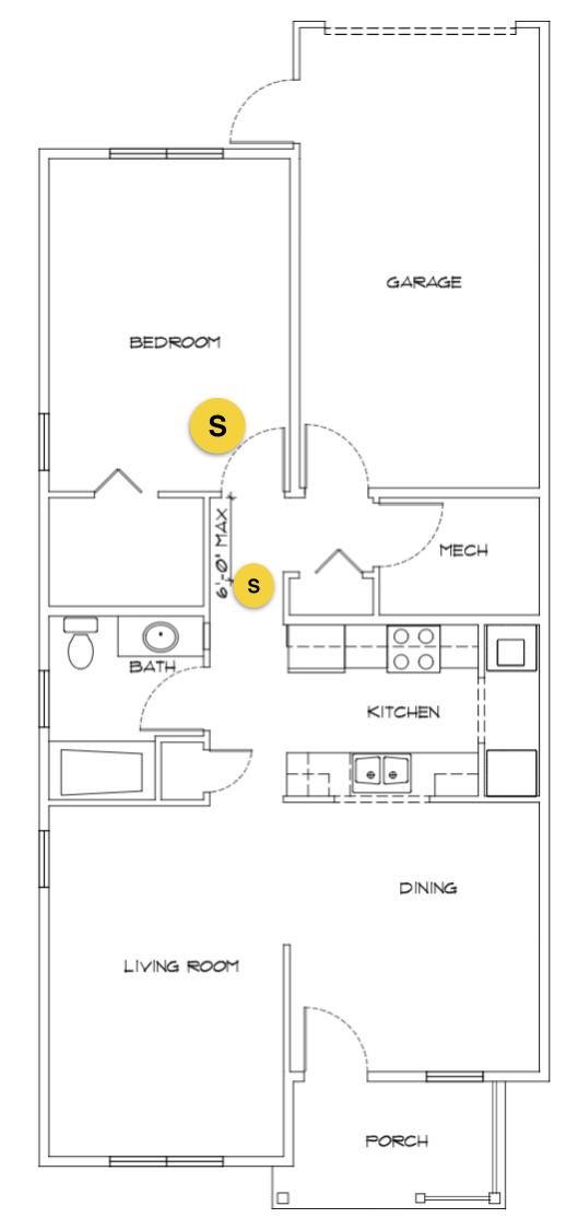 One-Bedroom Unit