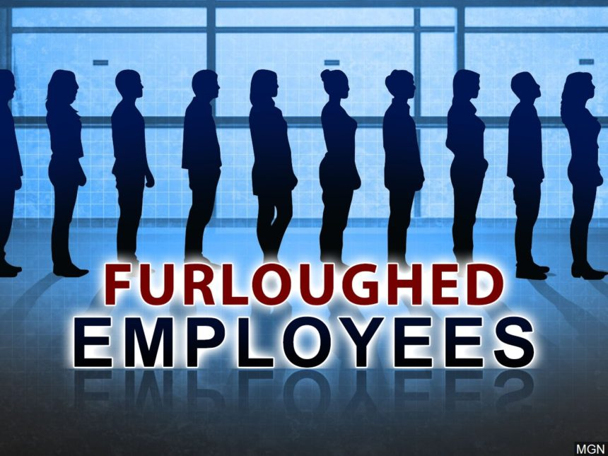 "Employees in line with the text ""Furloughed Employees"""