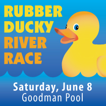 Rubber Ducky River Race