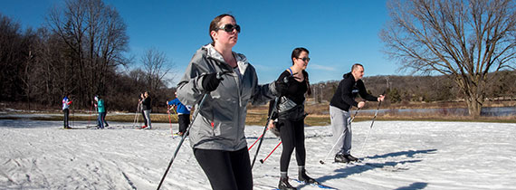 Cross-Country Skiing Parties