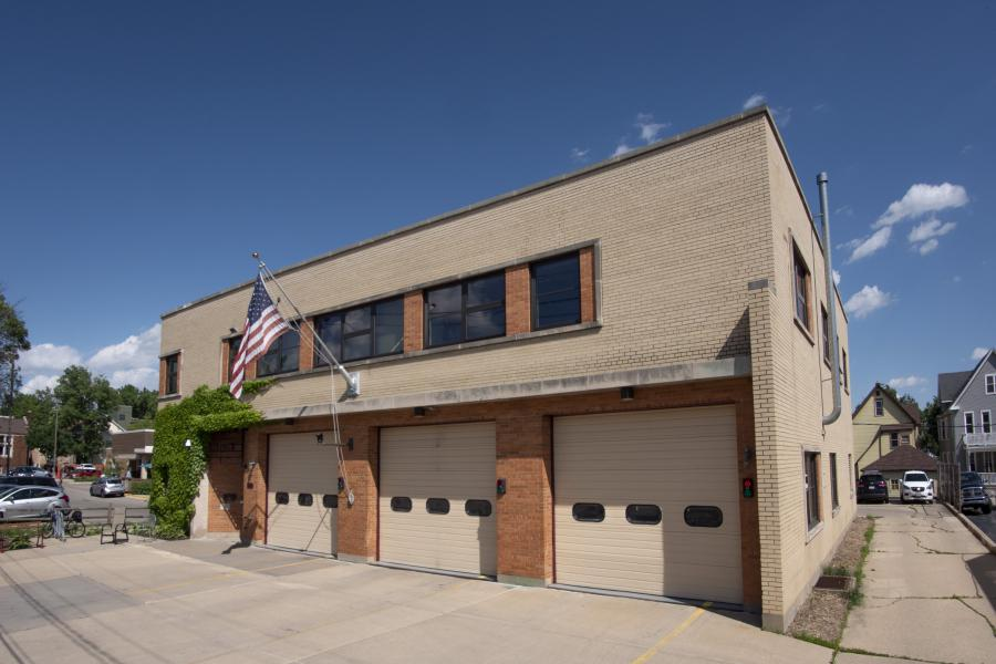 Fire Station 3 - Serving the near east side, including East Washington Ave. and the Willy Street area.