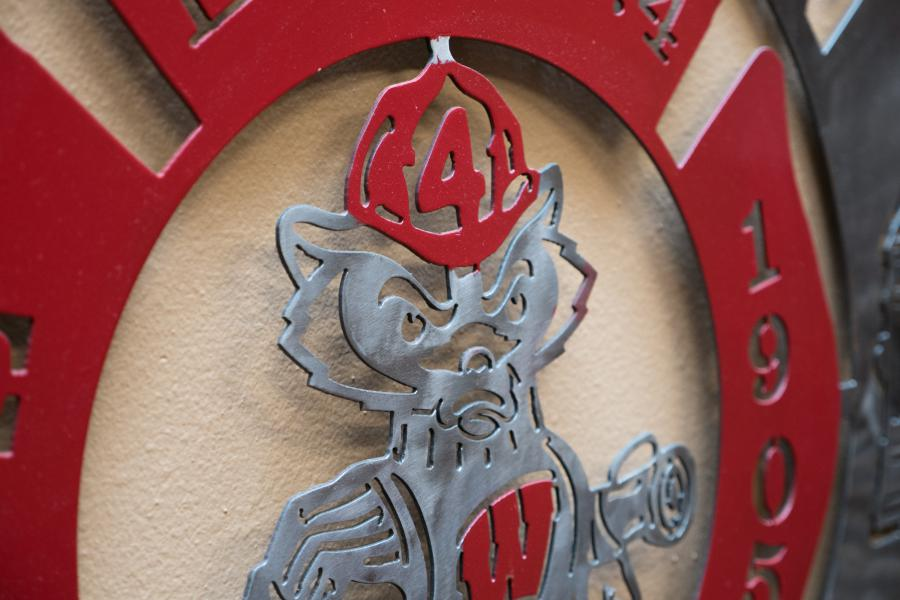 Bucky's House - Located across the street from Camp Randall Stadium, Station 4 carries the nickname 'Bucky's House.'