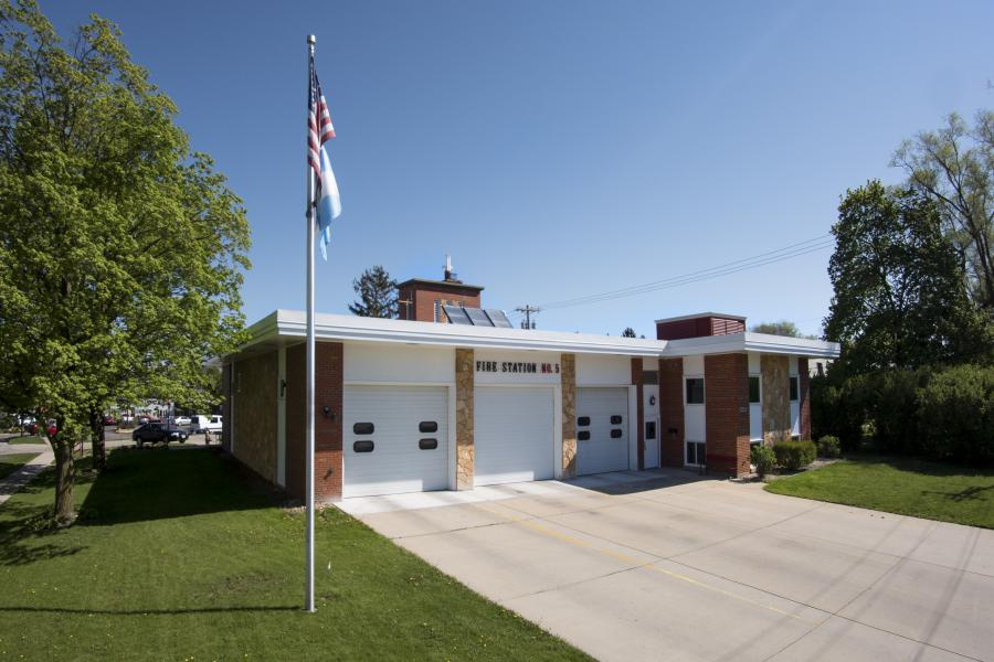Fire Station 5 - Serving the east side.