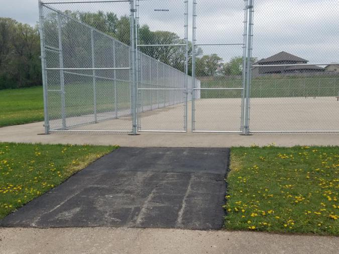 Door Creek tennis courts on May 16, 2019