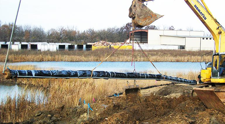 Cannonball Pipeline construction