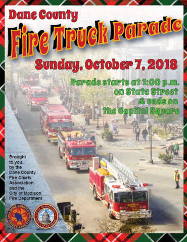 Fire Truck Parade poster