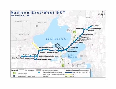BRT proposed routing