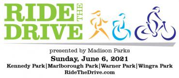 ride the drive event logo