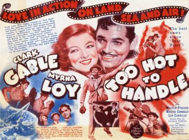 Too Hot To Handle Movie Poster