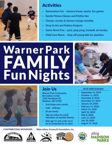 Warner Park Family Fun Nights
