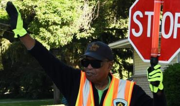 Image of Crossing Guard in action