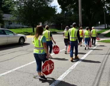 Image of Crossing Guards training