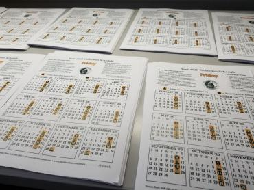 Get your collection calendar today at www.cityofmadison.com/collectionschedule