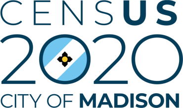 Logo for City of Madison Census 2020 project