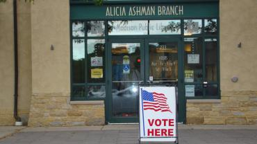 Alicia Ashman Library Polling Place