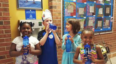 Hydration Station at Lindbergh Elementary