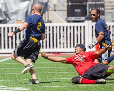 Police-Fire football game 2015