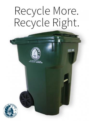 Recycling More and Recycling Right