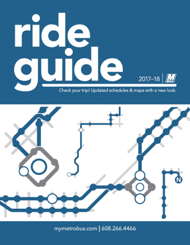 Updated Ride Guide Effective Sunday, August 27