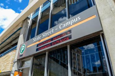 Image of State Street Campus Garage Entrance