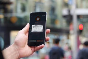 PulsePoint Verified Responder confirmation screen