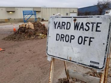 Yard waste collection done for 2019. Use the drop-off sites instead.
